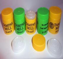 Tampa plástica para garrafa