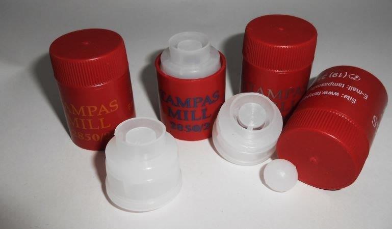 Tampa plástica para litro de cachaça preço